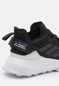 adidas Performance - TERREX HIKSTER - Scarpa da hiking - core black/crystal white/purple tint - 5