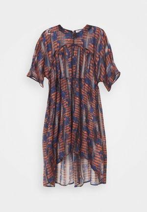 LAVA DRESS - Vestito estivo - orang/ blue