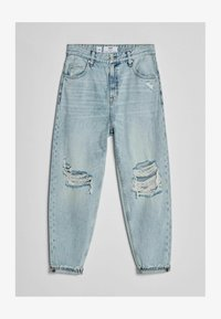 Bershka - Relaxed fit jeans - light blue - 4