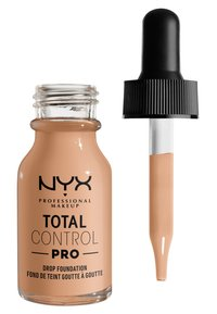 Nyx Professional Makeup - TOTAL CONTROL PRO DROP FOUNDATION - Foundation - natural - 4