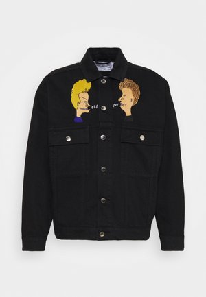 VERTIGE UNISEX - Denim jacket - black