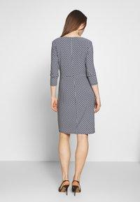 Lauren Ralph Lauren - PRINTED MATTE DRESS - Denní šaty - lighthouse navy - 2