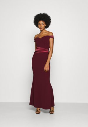 SELENE BAND MAXI - Robe de cocktail - wine
