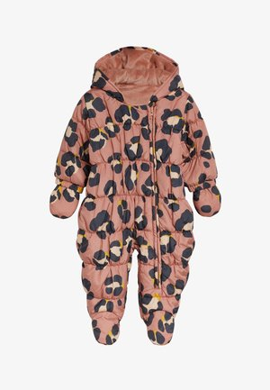 LEOPARD PRINT - Snowsuit - brown