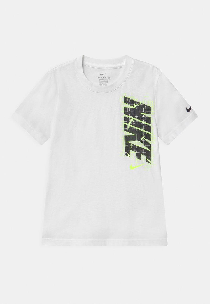 Nike Sportswear - GLOW IN THE DARK ELECTRIC  - Print T-shirt - white
