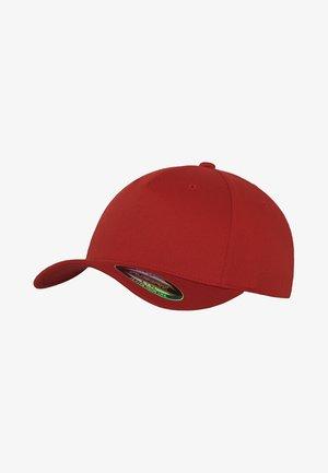 5 PANEL - Cap - red