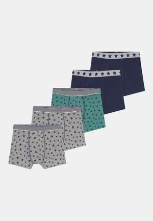 STAR TRUNKS 5 PACK - Onderbroeken - grey marl