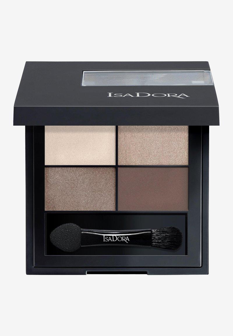 IsaDora - EYESHADOW QUARTET - Eyeshadow palette - cappuccino