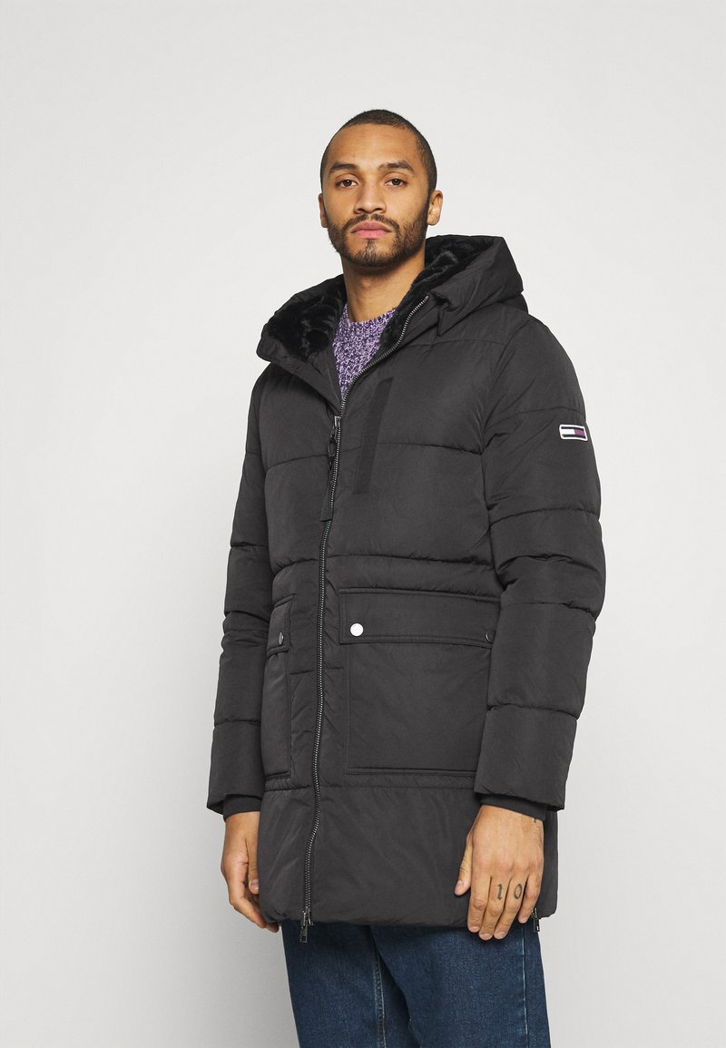 Tommy Jeans - CASUAL PUFFER - Winter coat - black