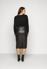 Evans - SKIRT - Pencil skirt - black - 2