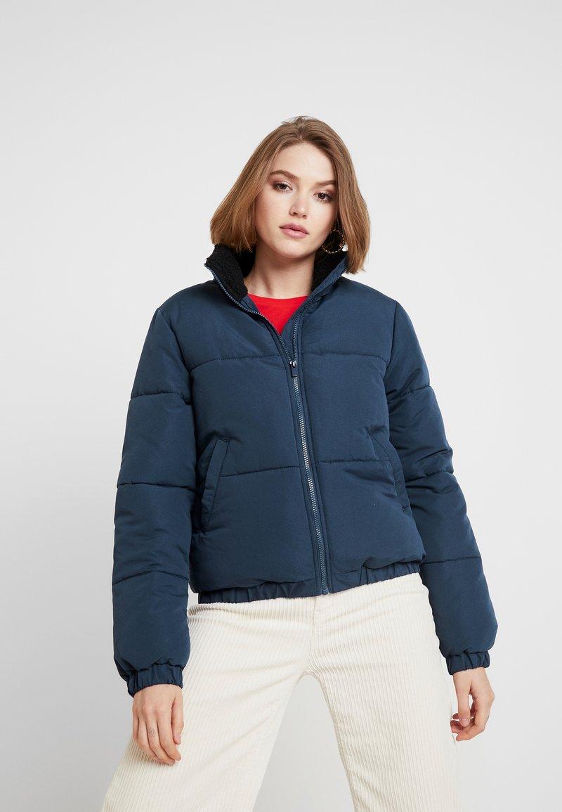 Vila - Winterjacke - navy blazer