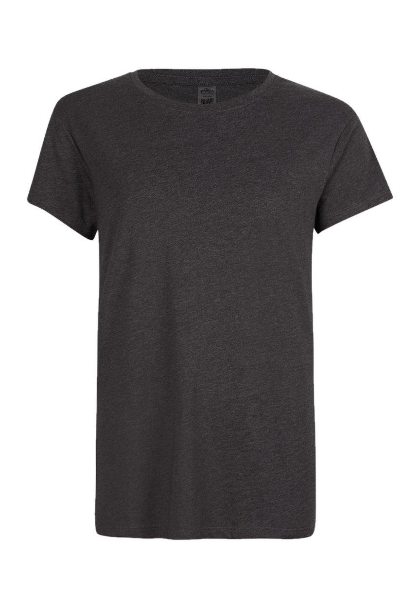 Damen T-Shirt basic - blackout