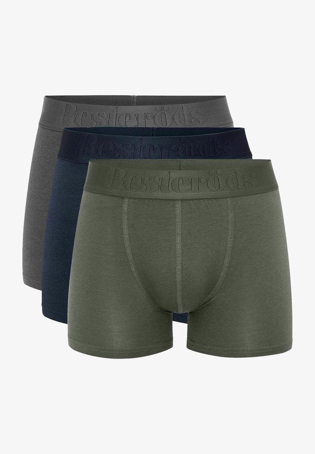 3 PACK - Onderbroeken - green