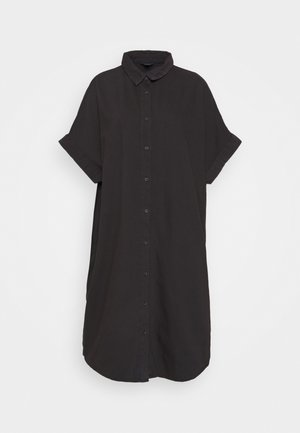 MOLLY DRESS - Dongerikjole - black