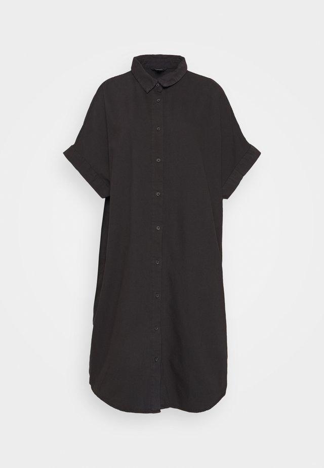MOLLY DRESS - Vestido vaquero - black