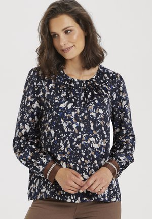 KABITA  - Blouse - midnight marine print