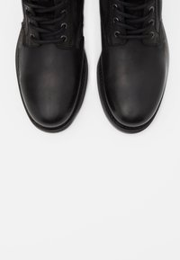 Jack & Jones - JFWANGUS - Lace-up ankle boots - anthracite - 4