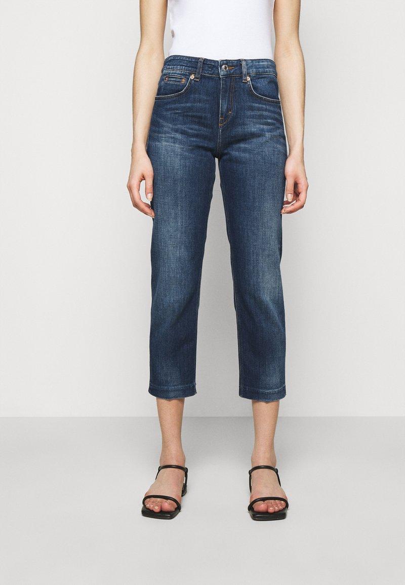 DRYKORN - PASS - Straight leg jeans - blau