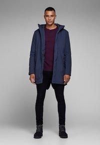 Jack & Jones PREMIUM - JPRCLIMB  - Winter coat - dark blue - 1