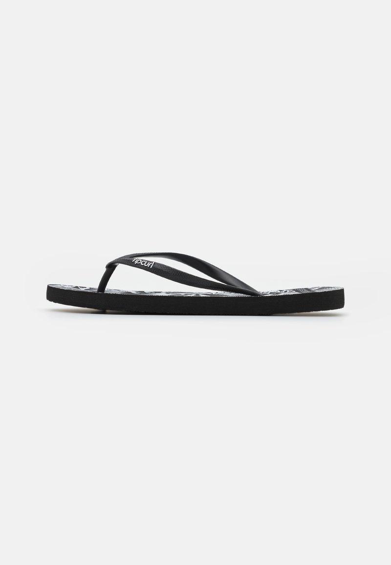 Rip Curl - SURF PALMS - Tongs - black