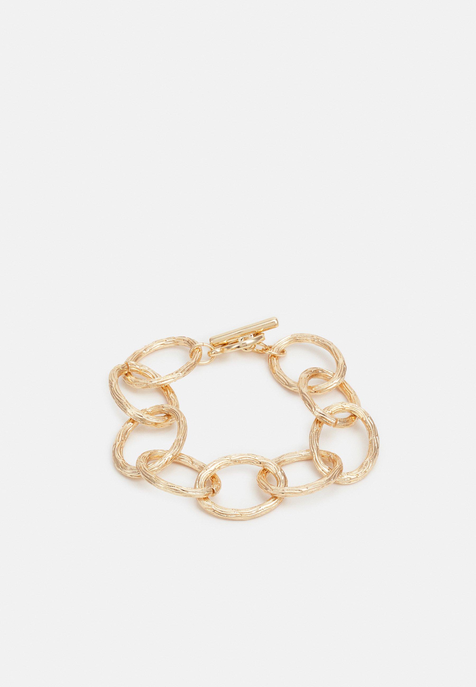 Femme LINK BRACELET WITH T-BAR DETAIL - Bracelet