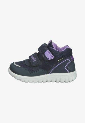 Sneakers laag - blau/lila