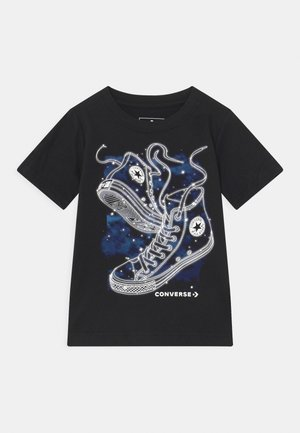COSMIC CHUCKS UNISEX - Print T-shirt - black