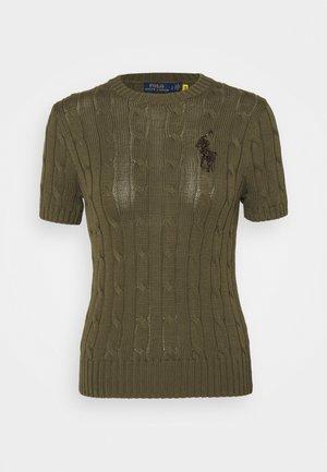 CLASSIC - Basic T-shirt - defender green