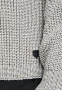 Jack & Jones PREMIUM - HALBREISSVERSCHLUSS - Trui - cool grey - 5