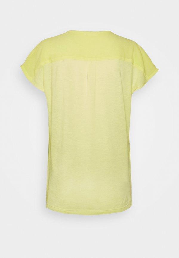 Opus FLUSI - Bluzka - fresh lemon Kolor jednolity Odzież Damska DHZE ZI 2