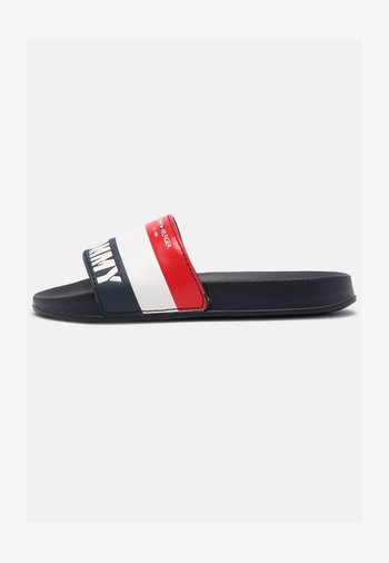 UNISEX - Mules - blue/white/red