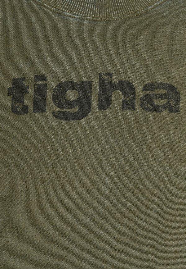 Tigha OLI - Bluza - vintage military green/zielony Odzież Męska EXCG