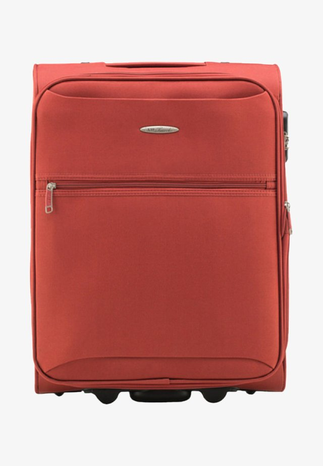 Wheeled suitcase - orange