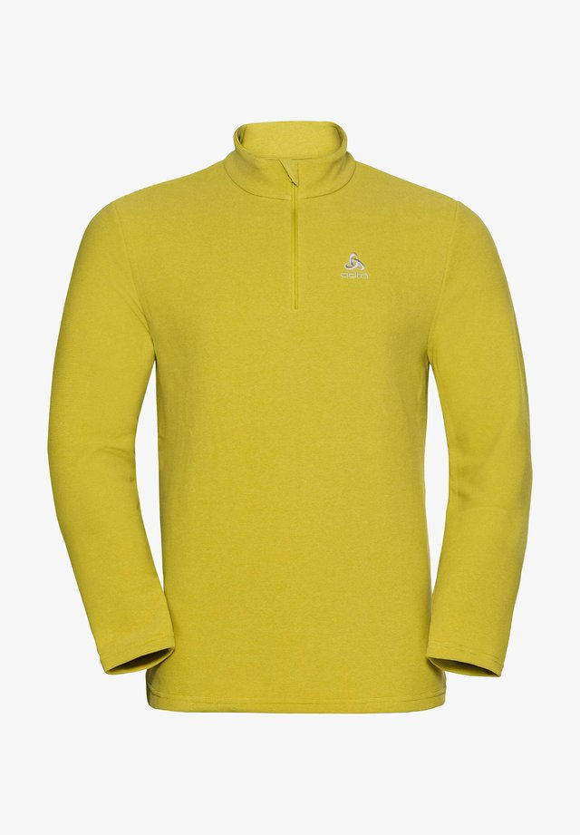 Fleece jumper - limette