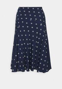 Lauren Ralph Lauren - A-line skirt - french navy/pale - 1