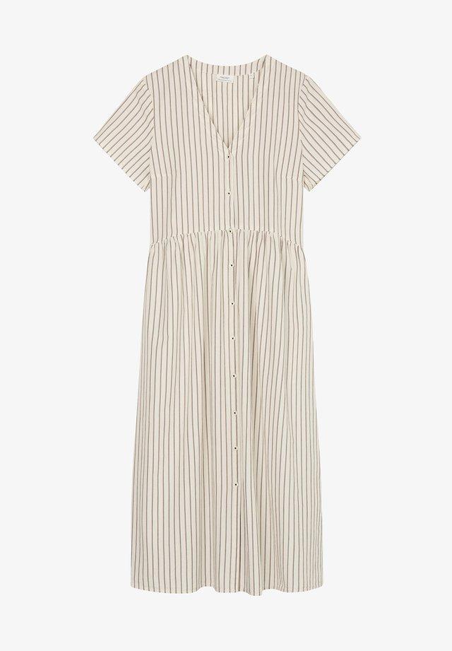 Sukienka koszulowa - multi/scandinavian white