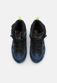 Jack Wolfskin - VOJO TEXAPORE MID UNISEX - Hiking shoes - dark blue/lime - 3