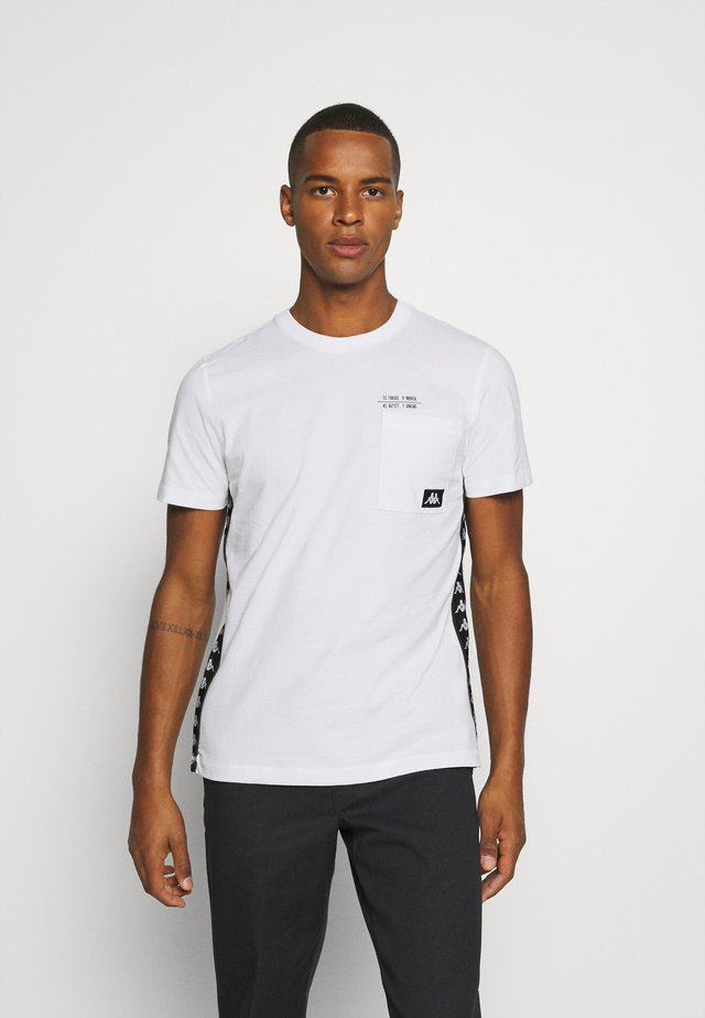 HELAN - T-shirt imprimé - bright white