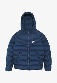 Nike Sportswear - JACKET FILLED - Vinterjakke - midnight navy/white - 2