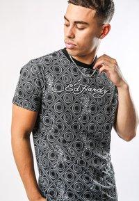 Ed Hardy - BAROQUE-TIGER T-SHIRT - Print T-shirt - black - 1