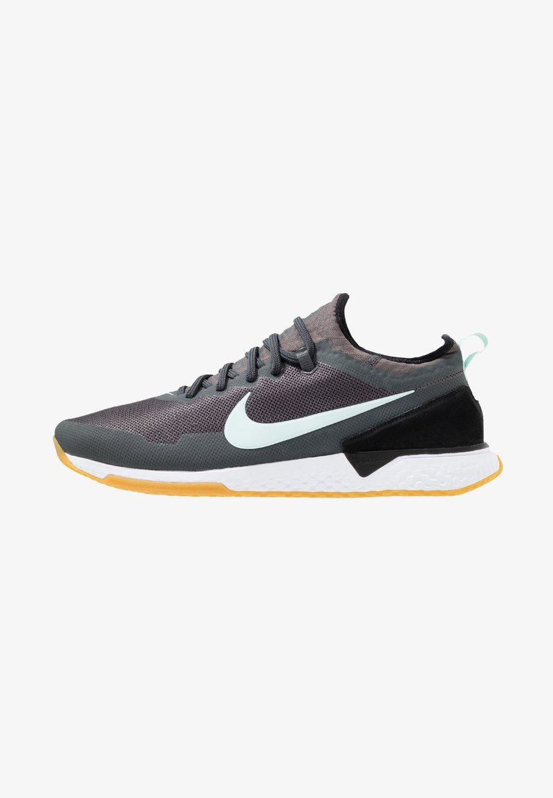 Nike Performance - FC - Indoor football boots - anthracite/black/teal tint/light brown