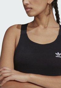 adidas Originals - RACER DRESS - Jersey dress - black - 4