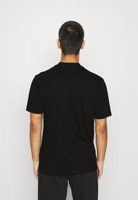 Topman - TURTLE 2 PACK - T-shirt basic - black - 2