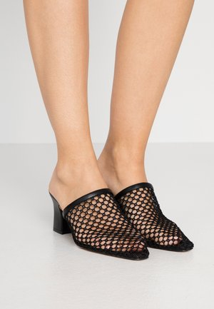 SKYE - Heeled mules - black