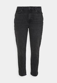 Even&Odd Curvy - Slim fit jeans - black denim - 3