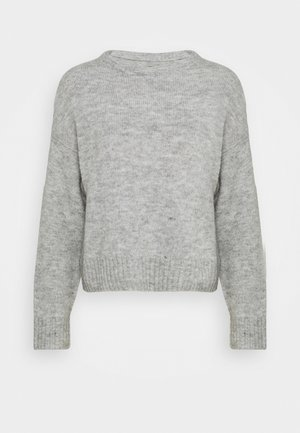BASIC- SHORT JUMPER - Svetr - light grey
