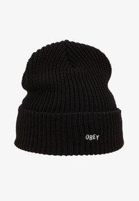 Obey Clothing - JUMBLED BEANIE - Gorro - black - 4