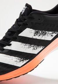 adidas Performance - ADIZERO RC 2 - Konkurrence løbesko - core black/footwaer white - 5