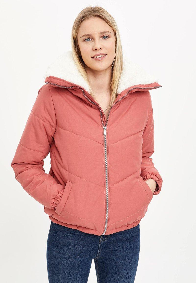 DeFacto - Light jacket - bordeaux