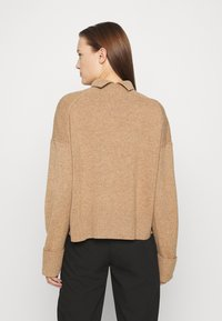 ARKET - TURTLENECK JUMPER - Jumper - beige dark - 2
